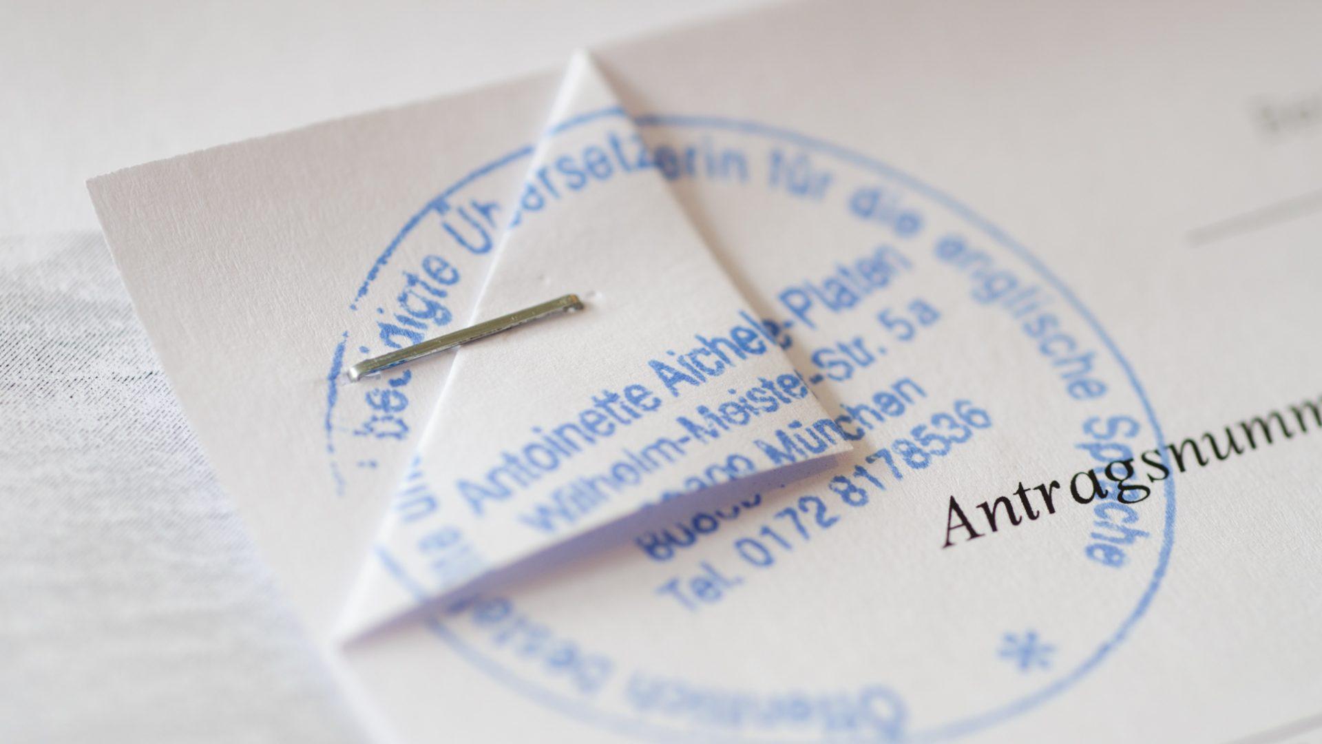 Übersetzungsbüro | Translation Agency Antoinette Aichele-Platen